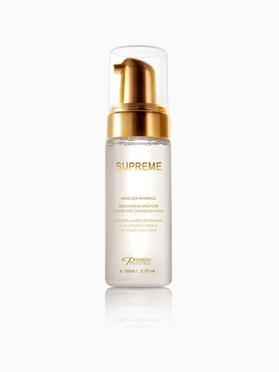 Supreme Brightening And Pore Clarifying Cleansing Foam