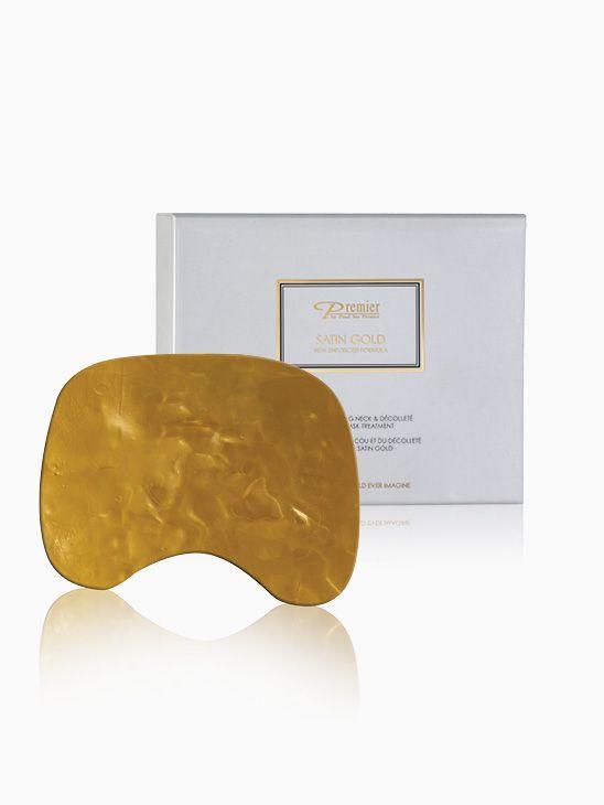 Premier Satin Gold Reviving Neck & Décolleté Collagen Mask Treatment K61