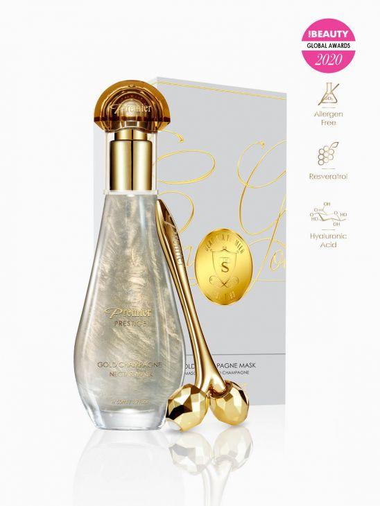 Gold Champagne Mask K66