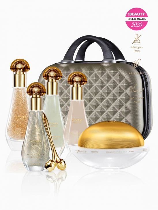 Gold Champagne Collection Set k67