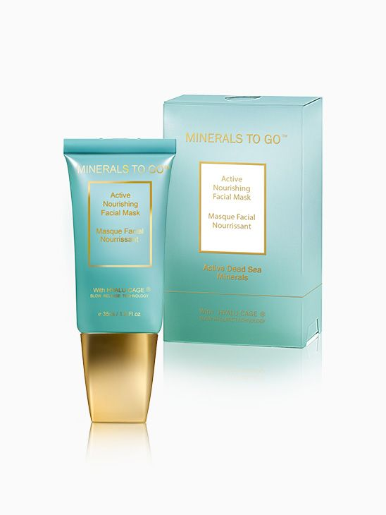 Minerals-To-Go - Active Nourishing Facial Mask T4