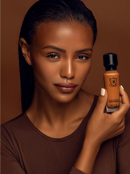 Skin Iilluminating Rich Cream Foundation - 8N Dusk R312