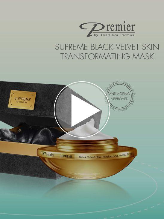 Black Velvet Skin Transforming Mask PS38